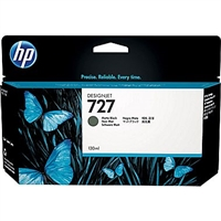 HP 727 Matte Black Designjet Ink Cartridge 40ml for HP T920, T1500