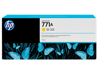 HP 771 775-ml Ink Cartridge - Yellow