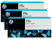 HP 771 3-pack 775-ml Ink Cartridge - Photo Black