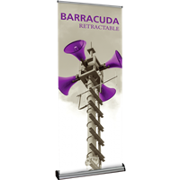 "Orbus Barracuda 850 33.5"" Retractable Banner Stand"