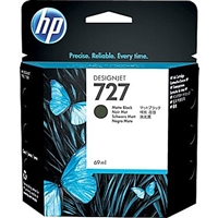 HP 727 Matte Black Designjet Ink Cartridge 69ml for HP T920, T1500