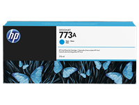 HP 773A 775ml Ink Cartridge - Cyan