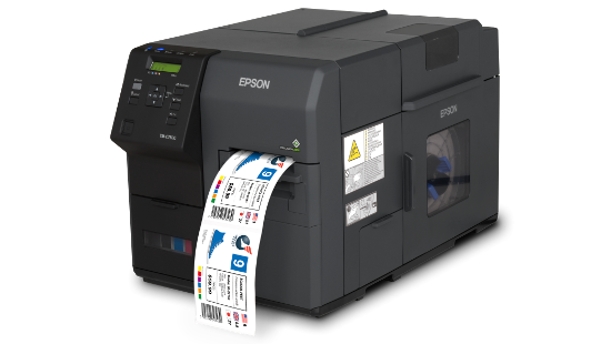Epson ColorWorks C7500G Inkjet Label Printer