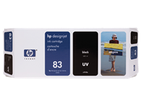 HP 83 680-ml Black DesignJet UV Ink Cartridge