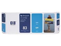 HP 83 680-ml Cyan DesignJet UV Ink Cartridge