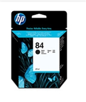 HP 84 60-ml Black DesignJet Ink Cartridge for Designjet 10ps, 20ps, 30, 30n, 50ps, 90, 90gp, 90r, 120, 120nr, 130, 130nr, 130r, 130nr, 130gp