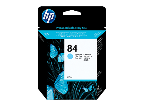 HP 84 69-ml  Light Cyan DesignJet Ink Cartridge