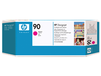 HP 90 Magenta DesignJet Printhead and Printhead Cleaner