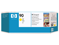 HP #90 YELLOW printhead & cleaner for DesignJet 4000