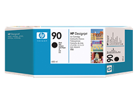 HP 90 400-ml Black DesignJet Ink Cartridge