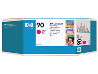 HP #90 MAGENTA ink for DesignJet 4000, 400 ml