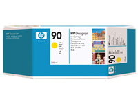 HP #90 YELLOW ink for DesignJet 4000, 225 ml