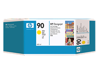 HP #90 YELLOW ink for DesignJet 4000, 400 ml
