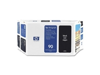 HP #90 BLACK value pack (400ml ink + printhead/printhead cleaner) for DesignJet 4000