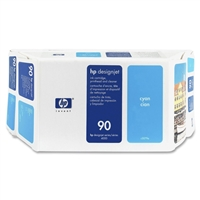 HP #90 CYAN value pack (400ml ink + printhead/printhead cleaner) for DesignJet 4000