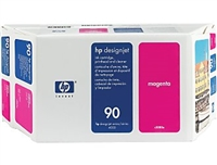 HP #90 MAGENTA value pack (400ml ink + printhead/printhead cleaner) for DesignJet 4000