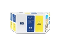 HP #90 YELLOW value pack (400ml ink + printhead/printhead cleaner) for DesignJet 4000