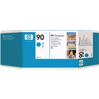 HP #90 CYAN 3-ink multipack for DesignJet 4000