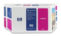 HP #90 MAGENTA 3-ink multipack for DesignJet 4000