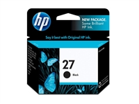 HP 27 Black Inkjet Print Cartridge