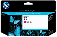 HP 72 Magenta 130ml Ink Cartridge