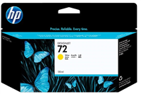 HP 72 Yellow 130ml Ink Cartridge