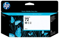 HP 72 Gray 130ml Ink Cartridge
