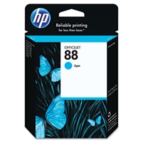HP #88 Cyan Ink Cartridge with Vivera Ink