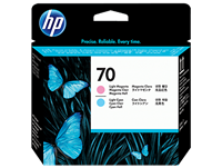 HP 70 Lt. Magenta and Lt. Cyan Printhead (C9405A)