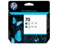 HP 70 Blue and Green Printhead (C9408A)