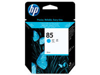 HP 85 28-ml Cyan DesignJet Ink Cartridge for DesignJet 30, 90, 130