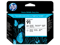 HP 91 Photo Black and Light Gray Printhead
