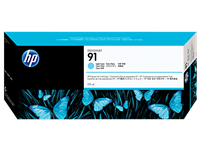 HP 91 775ml Lt Cyan Ink Cartridge