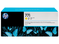 HP 771 Yellow DesignJet Ink Cartridge 775-ml