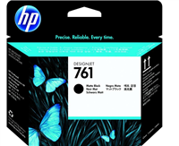 HP 761 DesignJet Printhead Matte Black and Matte Black