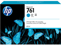 HP 761 400ml Designjet Cartridge Cyan