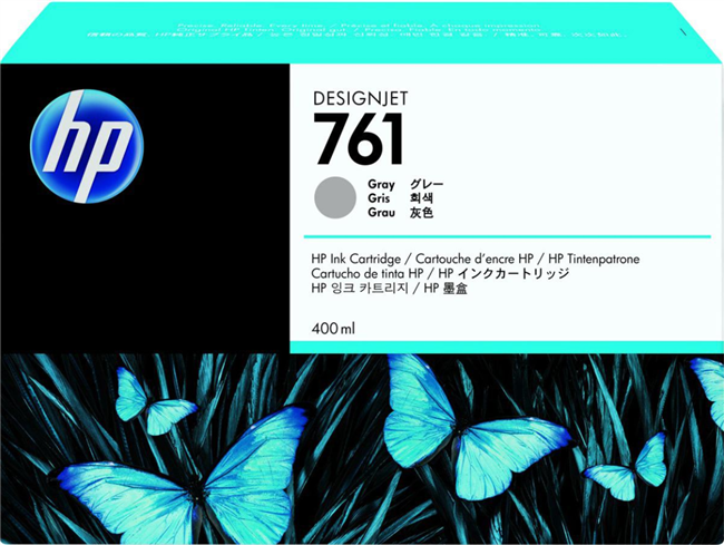 HP 761 400ml Designjet Cartridge Gray