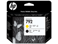 HP 792 Yellow and Black Printhead for Designjet L26500, L28500