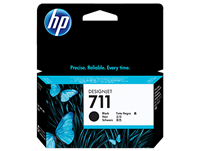 HP 711 Black 38-ml ink cartridge for T120, T520