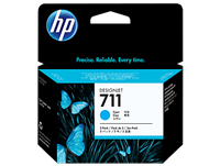 HP 711 3-PACK Cyan 29-ml ink cartridges for Designjet T120, T520