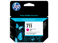 HP 711 3-PACK Magenta 29-ml ink cartridges for DesignJet T120, T520