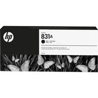 HP 831A Black Ink Cartridge 775ml for HP Latex 310, 315, 330, 335, 360, 365, 560