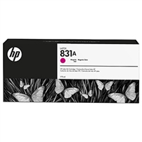 HP 831A Magenta Ink Cartridge 775ml for HP Latex 310, 315, 330, 335, 360, 365, 560