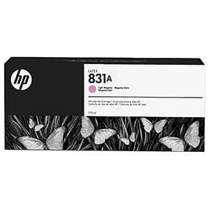 HP 831A Light Magenta Ink Cartridge 775ml for HP Latex 310, 315, 330, 335, 360, 365, 370, 560, 570