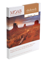 "Moab Slickrock Metallic Silver 300gsm 8.5"" x 11"" - 100 sheets"