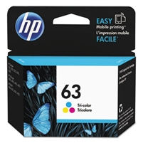 Hewlett Packard 63 Tri-Color Original Ink Cartridge