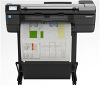 "HP DesignJet T830 Large Format Multifunction Wireless Plotter Printer - 24"", with Mobile Printing"