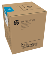 HP 882 5-liter Cyan Latex Ink Cartridge for R2000