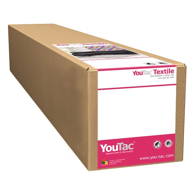 "Innova YouTac Solvent Repositionable Textile 30""x100' Roll"