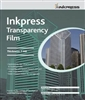 "Inkpress Transparency Film 7mil 11""x17"" - 50 Sheets"